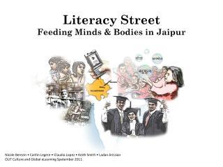 Literacy Street Feeding Minds & Bodies in Jaipur