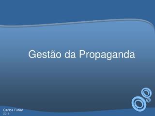 Gest�o da Propaganda