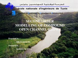 SECOND ORDER MODELLING OF COMPOUND OPEN CHANNEL-FLOWS