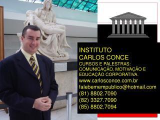 COM CARLOS CONCE MESTRE EM COMUNICAÇÃO – UFRJ