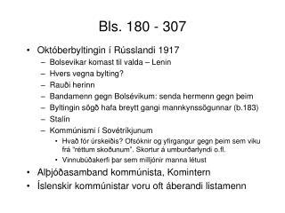 Bls. 180 - 307