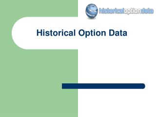 Find Best Historical Options Prices