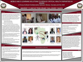 PRINCIPAL INVESTIGATOR: DR. BENJAMIN AFLAKUI, MD