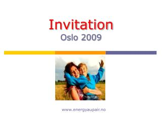 Invitation Oslo 2009
