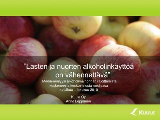 Kuule Oy Anne Leppänen