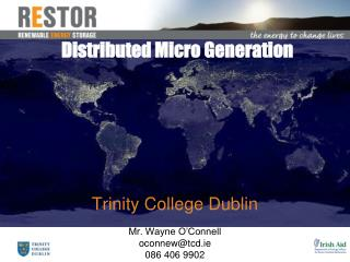 Distributed Micro Generation