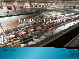 Transportni sistemi