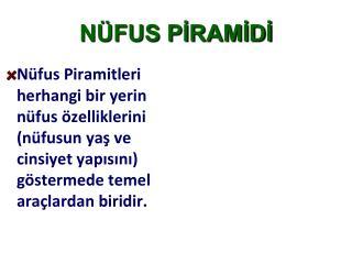 NÜFUS PİRAMİDİ
