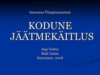 Saaremaa  hisg mnaasium