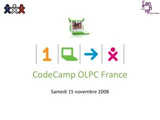 CodeCamp OLPC France