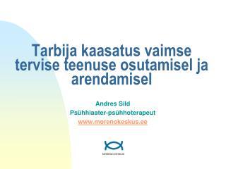 Tarbija kaasatus vaimse tervise teenuse osutamisel ja arendamisel