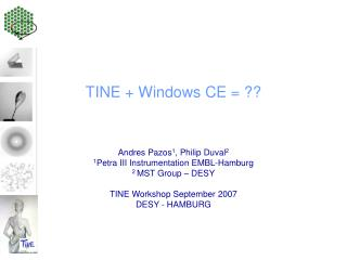TINE + Windows CE = ??