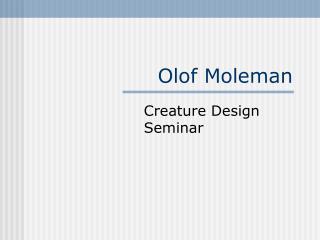 Olof Moleman