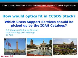 How would optics fit in CCSDS Stack?