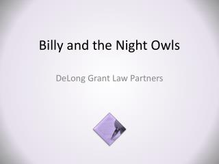 Billy and the Night Owls