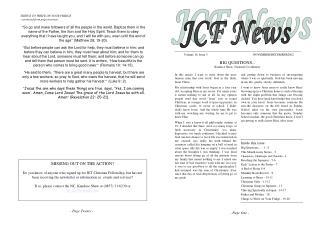 Volume 16, Issue 3                                      NOVEMBER/DECEMBER2002
