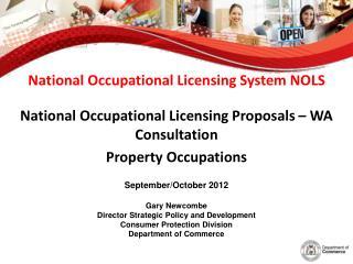 National Occupational Licensing System NOLS