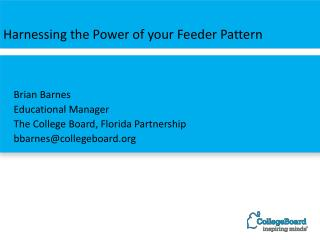 Harnessing the Power of your Feeder Pattern