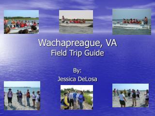 Wachapreague, VA  Field Trip Guide