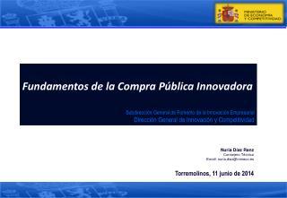 Fundamentos de la Compra Pública Innovadora