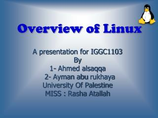 Overview of Linux