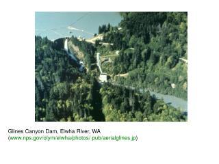 Glines Canyon Dam, Elwha River, WA  ( nps/olym/elwha/photos/ pub/aerialglines.jp )