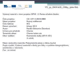 VY_32_INOVACE_CHK4_5660 ŠAL