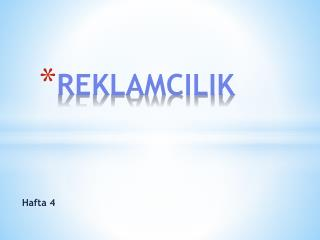 REKLAMCILIK