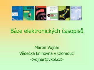 Báze elektronických časopisů