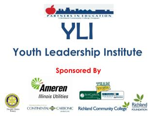 YLI Youth Leadership Institute   Sponsored By