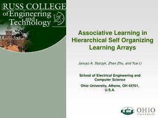 Associative Learning in Hierarchical Self Organizing Learning Arrays