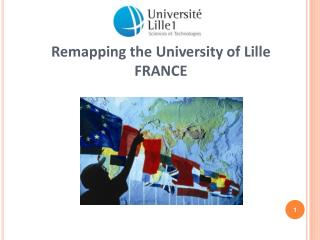 Remapping the University of Lille FRANCE