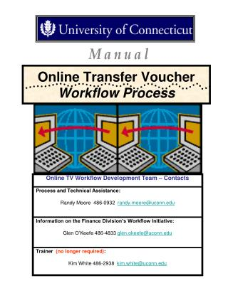 Online Transfer Voucher  Workflow Process