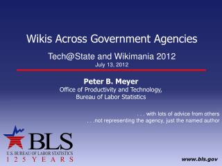 Wikis Across Government Agencies