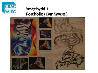 Ymgeisydd  1  Portffolio  ( Cymhwysol )