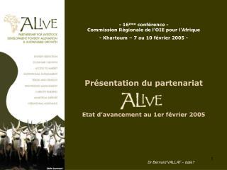 - 16 ème  conférence - Commission Régionale de l'OIE pour l'Afrique