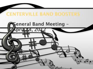 CENTERVILLE BAND BOOSTERS