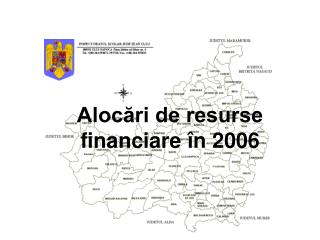 Alocări de resurse financiare în 2006