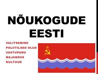 N�ukogude Eesti