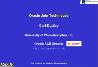 Oracle Join Techniques