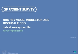 Heywood Middleton  Rochdale Primary Care Trust