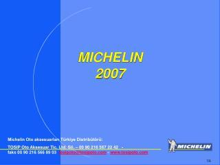 MICHELIN 2007