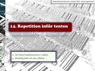 14. Repetition inf�r tenten