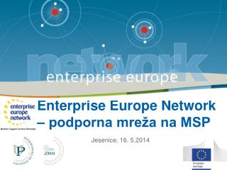 Enterprise Europe Network – podporna mreža na MSP