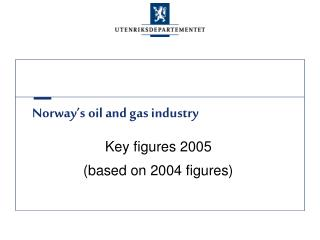 Norway's oil and gas industry