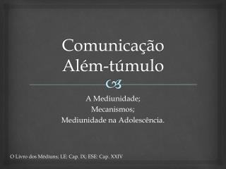Comunicação Além-túmulo