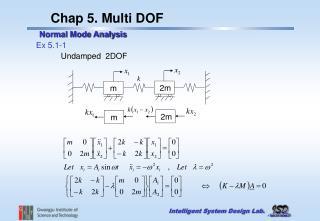Chap 5. Multi DOF