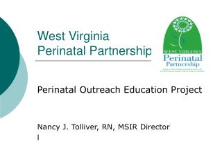 West Virginia  Perinatal Partnership