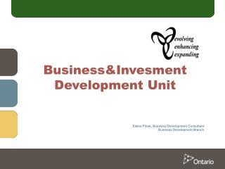 Business&Invesment Development Unit