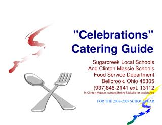 Celebrations Catering Guide